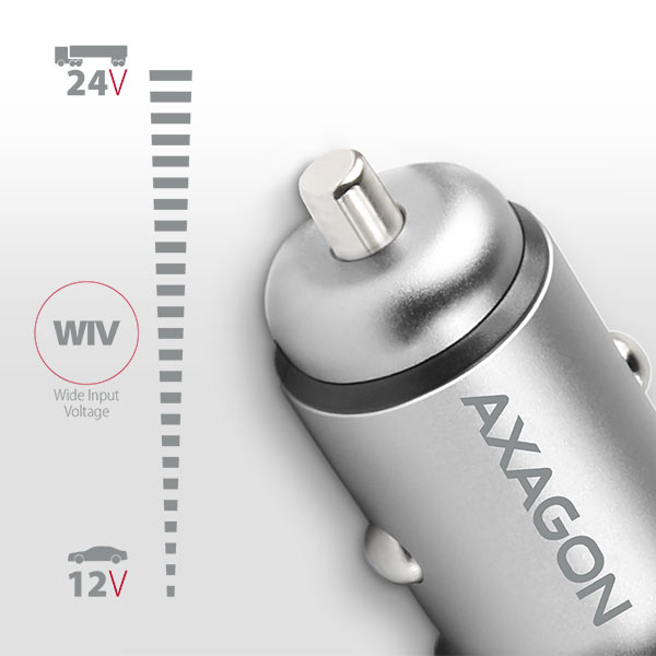 PWC-5V4 2.4A + 2.4A car charger